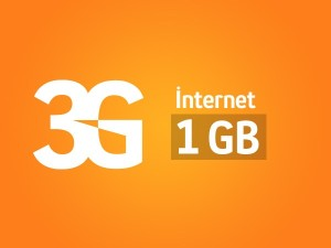 3 ay 1 gb bedava internet