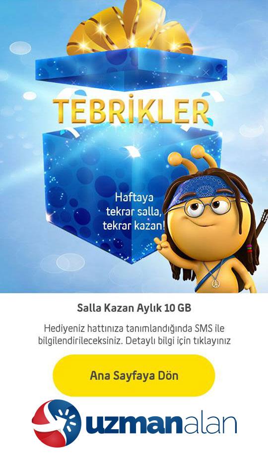 Turkcell salla kazan nasıl yapılır ?