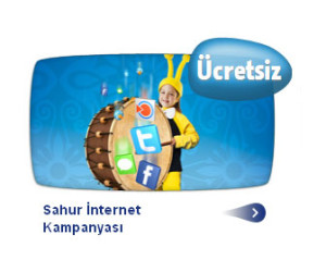 turkcell sahur internet paketi